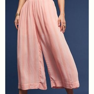Maeve nell culottes in pink Anthropologie nwt